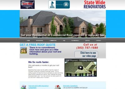 StateWide Renovators website