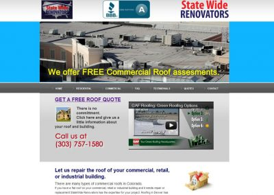 StateWide Renovators website2