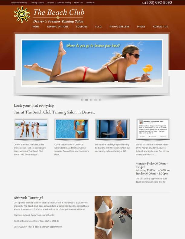 the beach club tanning salon denver