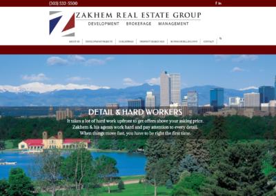 Zakhem Real Estate Group website