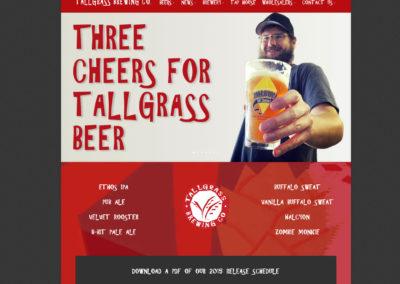 Tallgrass Beer website