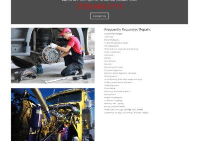 1st Response Diesel Service website