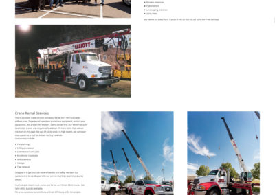 Denver Crane Service website
