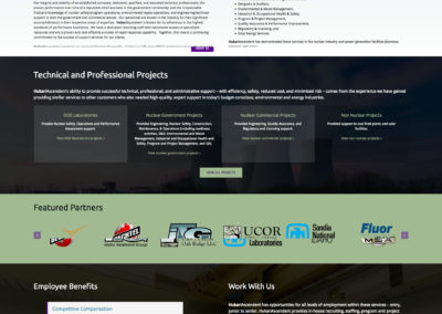 HukariAscendent new website screenshot